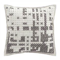 Gan Canevas Abstract Square Cushion | Shop Gan at ferriousonline.co.uk