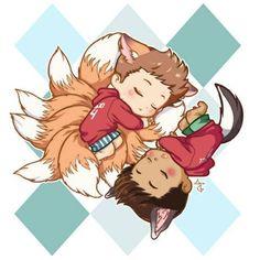 19a857656d51fce3baab87291b82f2c7--kitsune-werewolf.jpg (480×480)