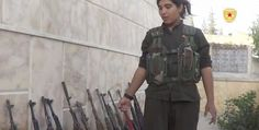 Rehana, A Kohinoor among Kurdish Female Fighter