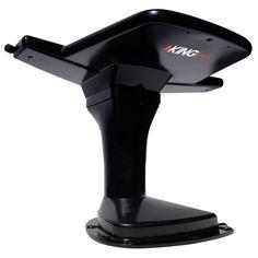 KING Jack OA8201 Over-The-Air HD TV Antenna w/SureLock Signal Meter - Black
