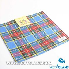 Clan MacBeth Tartan Handkerchief