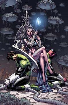 Green Lantern #7 variant cover by Ian Churchill___©__!!!!