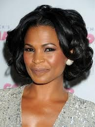 12 Hot Holiday Styles for Black Hair: Holiday Hairstyles: Nia Long 12 heiße Urlaubs Party Hairstyles, Celebrity Hairstyles, Wig Hairstyles, Holiday Hairstyles, Black Hairstyles, Relaxed Hairstyles, Celebrity Wigs, Bob Hairstyle, Nia Long