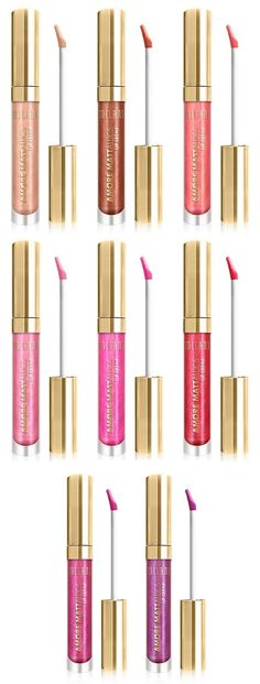 Can liquid lipstick have both a matte and a metallic finish?