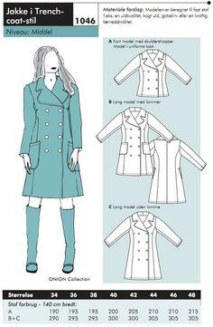 Danish coat pattern