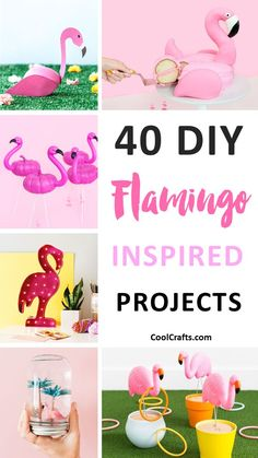 Let& face it, everyone loves flamingos. That& why we decided to compile a list of 40 DIY flamingo craft ideas that you can try making with your kids. Pink Flamingo Craft, Flamingo Gifts, Flamingo Decor, Flamingo Birthday, Pink Flamingos, Flamingo Bathroom, Flamingo Nursery, Flowers For Girlfriend, Fun Crafts