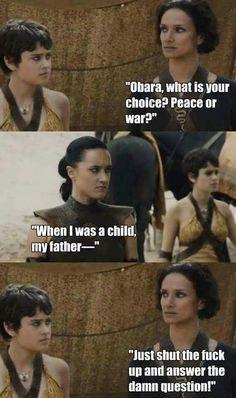 Obara shut up!