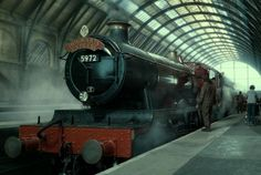 London King's Cross railway station now has a platform 9 3/4 in dedication to Harry Potter.