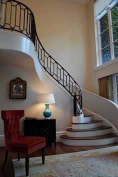 stairs and wall paint..
