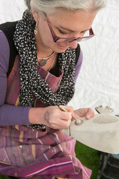 Many of our talented ceramicists will be demonstrating how they create there work in the pottery tent situated on the croquet lawn in the gardens on the Cotswold House Hotel. Come and have a look and. Cotswold House, Ceramic Pottery, Beautiful Things, Alice, Inspire, Glass, Clothing, How To Make, Inspiration