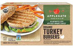 8. BETTER: Applegate Organics Turkey Burgers