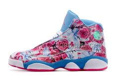 http://www.jordanse.com/newest-sale-girls-size-air-jd-13-gs-floral-white-pink-blue-for-spring.html NEWEST SALE GIRLS SIZE AIR JD 13 GS FLORAL WHITE PINK BLUE FOR SPRING Only 79.00€ , Free Shipping!