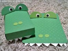Einladungskarte, Kindergeburtstag, Gastgeschenk, Krokodil, kleine Jungs, Monika Pfaffenzeller