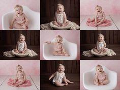 Los Angeles Newborn Baby Photography - Milestone! Love this baby girl.