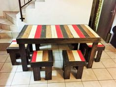 Modern and Unique Wood Pallet Furniture Designs Pallet Furniture Designs, Wooden Pallet Furniture, Wooden Pallets, Furniture Decor, Lounge Furniture, Pallet Wood, Wooden Pallet Crafts, Wooden Projects, Pallet Projects