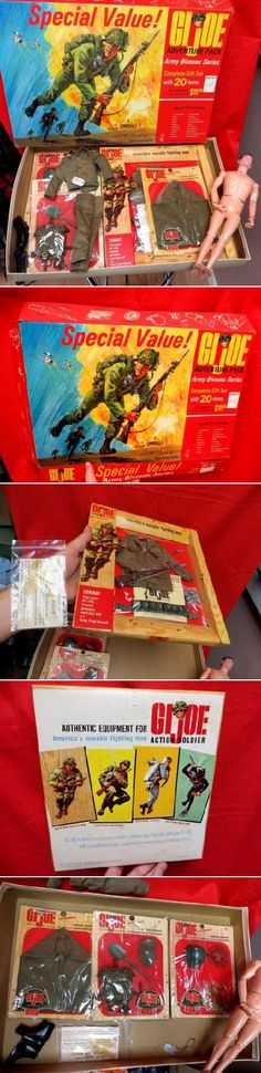 """""""Yo Joe""""!  To this day G.I. Joe has managed to remain popular with boys of all ages! No wonder he was inducted into the National Toy Hall of Fame. Here's your chance to take home an original!"""