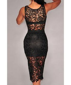 Stylish V-Neck Sleeveless Solid Color Lace Short Blouse and Skirt Suit For Women