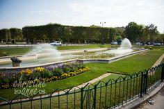 Fountains at Parc du Champ de Mars | Paris Travel