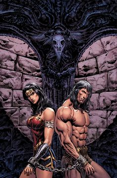 DC Previews Wonder Woman/Conan #1 From Gail Simone And Aaron Lopresti