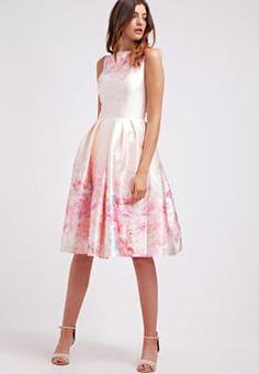 Chi Chi London - TEDDIE - Cocktailkleid / festliches Kleid - pink