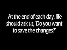 A quote #changes