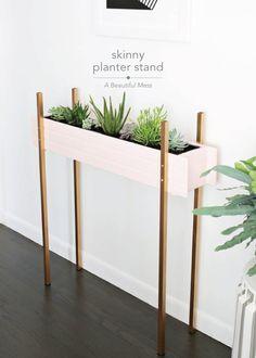 Skinny Planter Stand