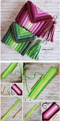 Crochet Beach Bags, Crochet Pouch, Crochet Market Bag, Crochet Yarn, Crochet Stitches, Diy Crochet Bag, Crochet Beanie, Crochet Dolls, Crochet Handbags