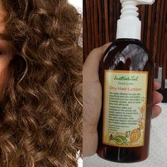 I really like this Natural hair lotion for my dry hair because after using it just one time I could tell a difference in my hair. It wasn't as dry and damaged as it had been. I can use just a quarter-sized amount, and it leaves my hair feeling soft and silky. It's also completely non-greasy.