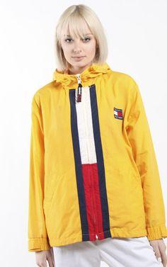 Vintage Tommy Hilfiger Windbreaker Jacket Tommy Hilfiger Windbreaker 4eb6f505cd