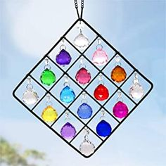 Amazon.com : Garden Suncatchers Ball Ornaments, Hanging Ornaments, Crystal Garden, Garden Windows, Crystal Ball, Glass Crystal, Hanging Crystals, Crystal Decor, Christmas Decorations
