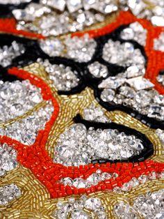 Cécile Henri Atelier : Broderies Tambour Beading, Tambour Embroidery, Couture Embroidery, Embroidery Fashion, Embroidery Applique, Embroidery Stitches, Fabric Manipulation Techniques, Lesage, Passementerie