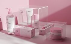 Beautiful branding for EMVY cosmetics by Choice Studio in Russia. EMVY is a bra… Beautiful branding for EMVY cosmetics by Choice Studio Skincare Packaging, Beauty Packaging, Cosmetic Packaging, Brand Packaging, Packaging Ideas, Wine Packaging, Design Packaging, Club Wine, Grape Color