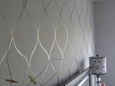 Image result for leaf stencil for wall