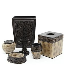 1000 images about bath accessories on pinterest bath accessories dillards and queens new york for Dillards bathroom accessories sets