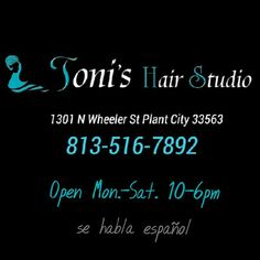 Walk ins welcome call for reservations