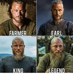 Vikings — Which Ragnar was your favourite ? Ragnar Lothbrok Vikings, Ragnar Lothbrok Quotes, Ragnar Lothbrook, King Ragnar, Lagertha, Ragnar Quotes, Vikings Tv Show, Vikings Season 5, Vikings Tv Series