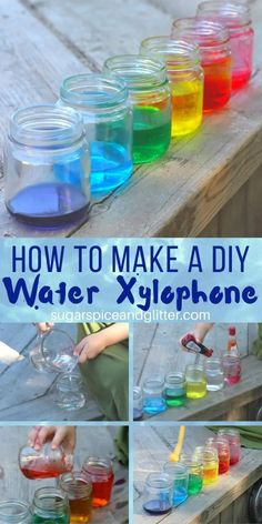 A fun kitchen science experiment that combines art, music, math and science - plus free printable Scientific Method for kids to use to practice their science skills while playing Science Fair Projects, Science Experiments Kids, Science Education, Science For Kids, Kids Education, Music Education, Preschool Projects, Science Fun, Physical Science