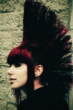 Red love #MohawkMonday