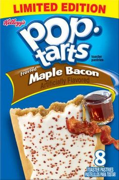 These maple bacon Pop Tarts. | 19 Weirdly Awesome Flavors That Debuted In 2015