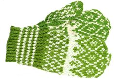 """""""Mittens of Northern Ostrobothnia"""" .though it's a biiiiig area there are bound to be A Lot of other models. These are pretty though. Knitting Socks, Knit Socks, Wrist Warmers, Gloves, Barn, Blanket, Sewing, Crochet, Couture"""