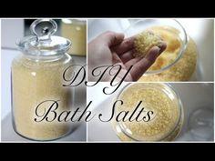 DIY Bath Salts Recipe ♡ - YouTube