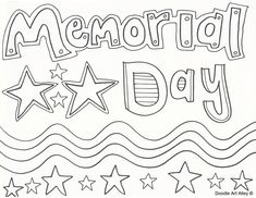 Memorial Day Coloring Page {FREEBIE!} (With images