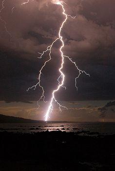 Lightning Bolt photo by Diamond Ho Haa Man taken at Waratah Bay (south east) Victoria, Australia