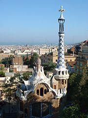 Budynek projektu Gaudiego