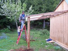 How to Build a Lean-to Barn | eHow.com