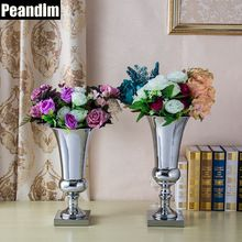 Buy PEANDIM Shiny Silver Metal Candle Holder Celebration Party Decoration Wedding Flower Vase Strands Road Lead 40cm & 43cm -  Best PEANDIM Shiny Silver Metal Candle Holder Celebration Party Decoration Wedding Flower Vase Strands Road Lead 40cm & 43cm Deals. Buy this only for US $34.85 - 39.99 per piece. Shoppers had already been buy it at least 7 products. Click here to see new deals for you from PEANDIM Ornament Store seller >> #CandleHolders #chrismast