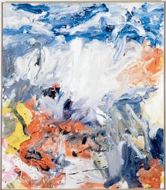 Willem de Kooning  Untitled V, 1977. Oil on canvas