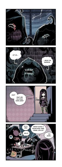 The Crawling City :: Episode 21 - Tentacles & Paper | Tapas - image 1