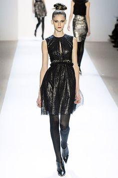 Monique Lhuillier Fall 2007 Ready-to-Wear Fashion Show - Daiane Conterato