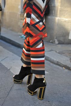 Paris Fashion Week #StreetStyle #Fashion #PFW #ParisFashionWeek #Shoes #Heels